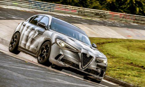 Alfa Romeo Stelvio QV sets Nurburgring SUV record (video)