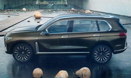 BMW Concept X7 previews super SUV with electric powertrain