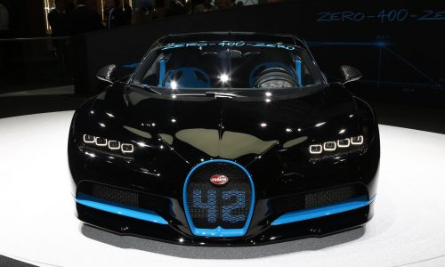 Bugatti Chiron '42' special edition celebrates 0-400-0km/h record (video)