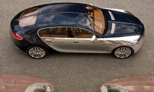 Next Bugatti set to be four-door, not coming until around 2024