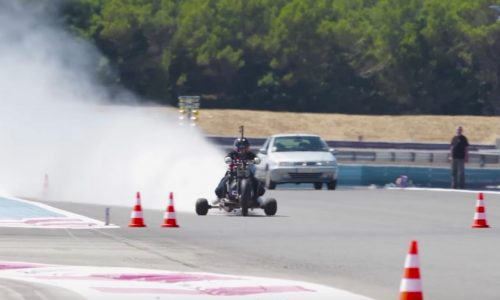 Video: Water-powered kart sprints from 0-100km/h in 0.5sec