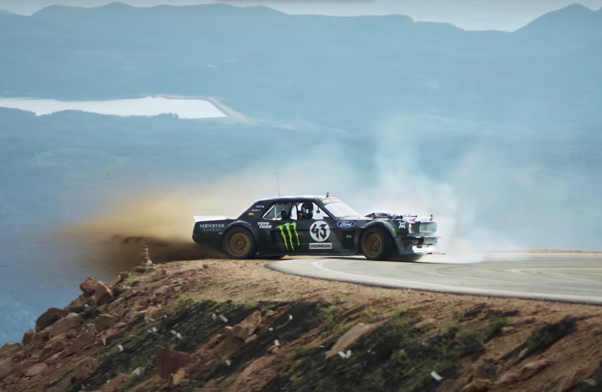 Video  Ken Block Does His Thing Up Pikes Peak