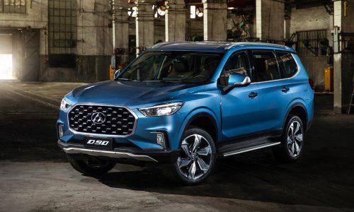 LDV D90 seven-seat SUV on sale in Australia in November