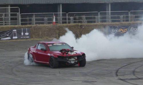 Mazda RX-8 gets 5.9L Cummins diesel conversion (video)