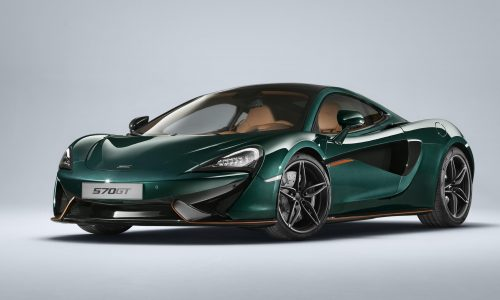 MSO creates unique McLaren 570GT 'XP Green' inspired by F1 XP