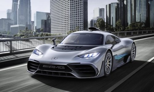 Mercedes-AMG Project ONE revealed: 1000hp road car with 11,000rpm V6
