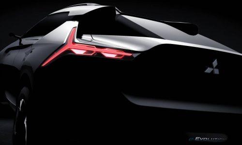 Mitsubishi e-Evolution concept previews Evo 11, debuts October 27