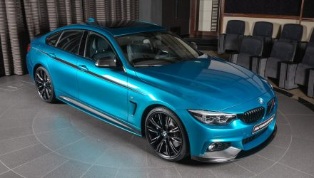 BMW Aba Dhabi gives 440i GC full M Performance options