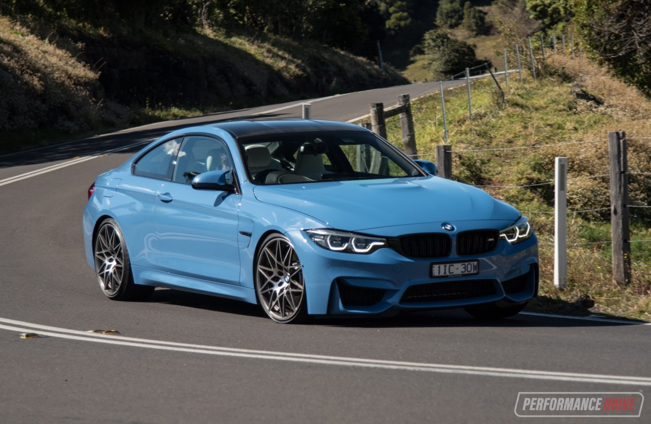 2017 Bmw M4 Competition Lci Review Video Performancedrive