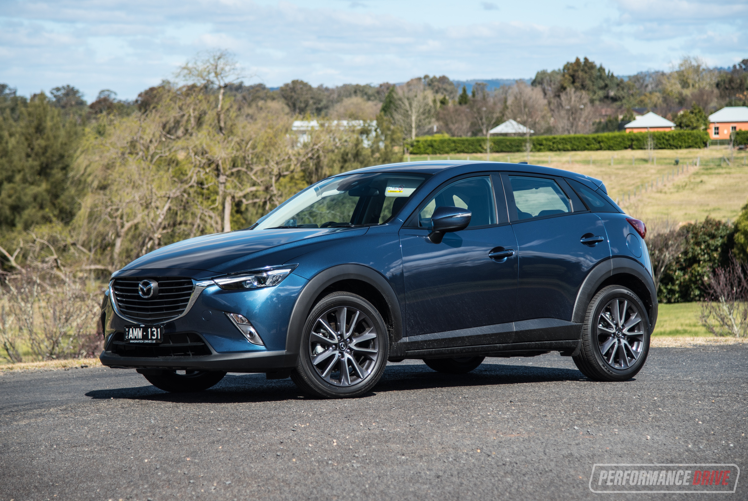 2017 Mazda Cx 3 Stouring Awd Review Video Performancedrive