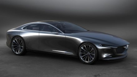 Mazda Vision Coupe concept revealed, previews next-gen Mazda6?