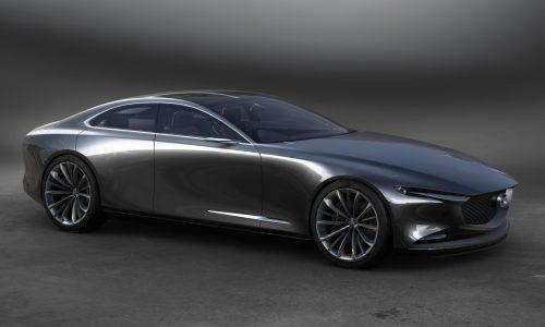 Mazda Vision Coupe concept revealed, previews next-gen Mazda6?