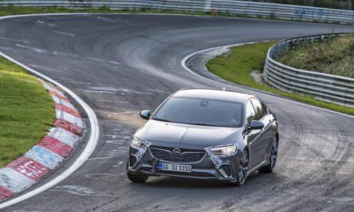 2017 Vauxhall Insignia GSi quicker around Nurburgring than predecessor