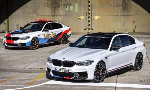 2018 BMW M5 M Performance parts revealed with MotoGP car
