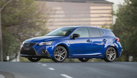 2018 Lexus CT 200h on sale in Australia from $40,900