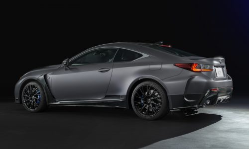 Lexus RC F & GS F matte grey special editions coming to Australia in 2018