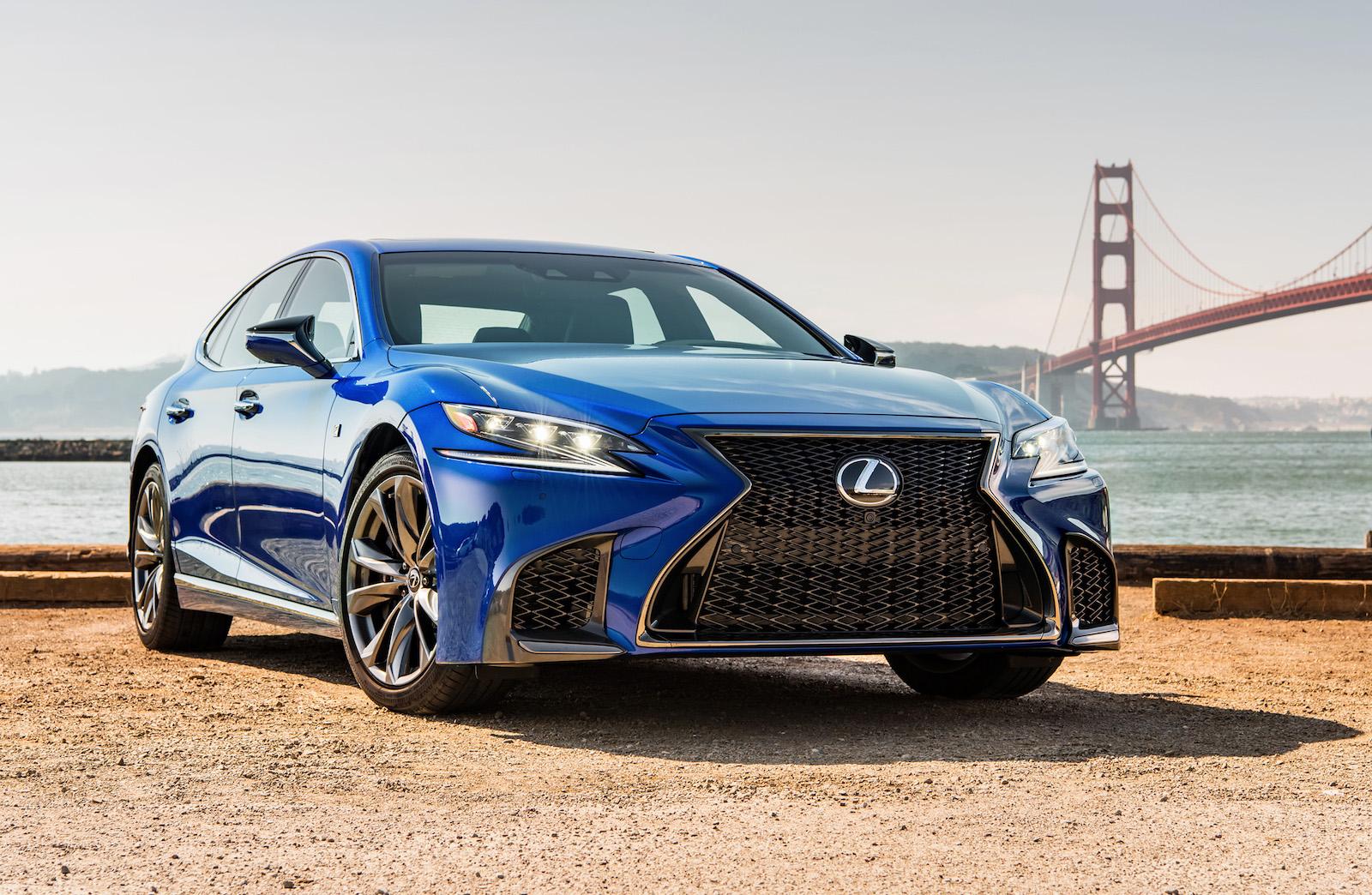 Lexus confirms new concept bound for Tokyo – LS F?