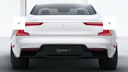 Polestar's first car previewed again, looks fat