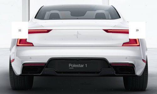 Polestar's first car previewed again, looks fat