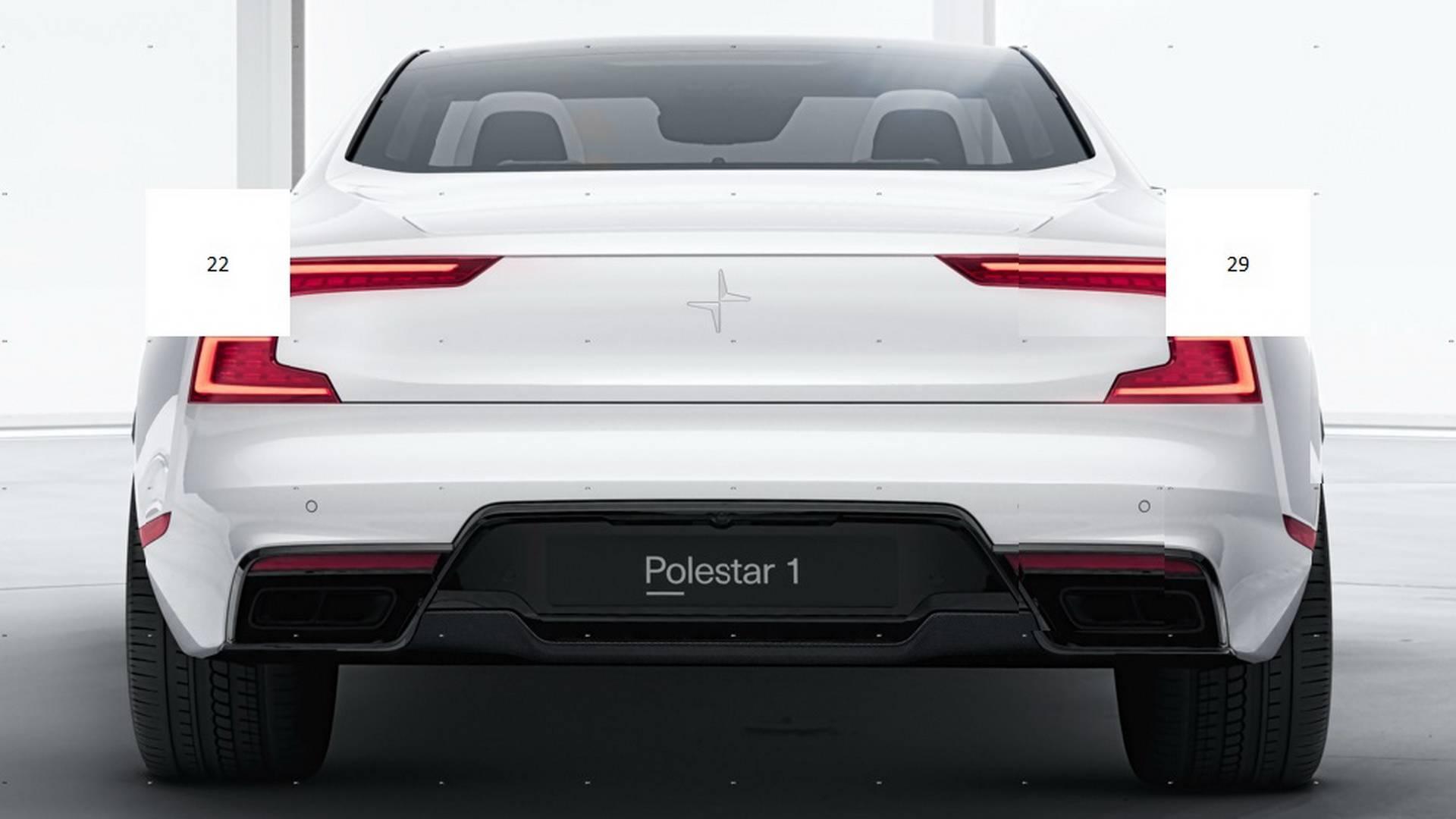 Polestar S First Car Previewed Again Looks Fat