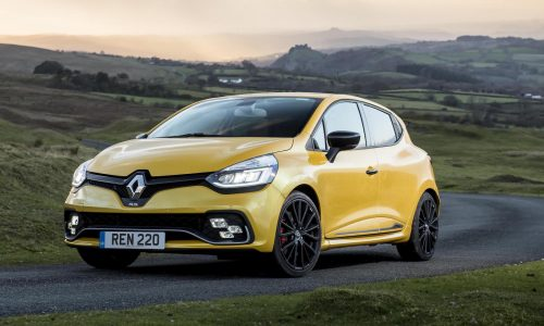 2018 Renault Clio R.S. Trophy now on sale in Australia