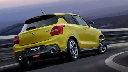 New Suzuki Swift Sport arrives in Australia Q1, 2018