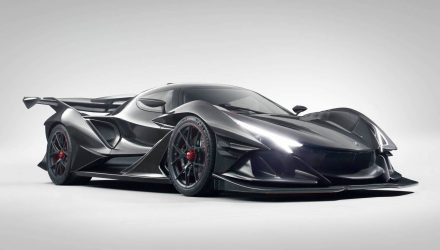 Insane Apollo Intensa Emozione revealed, all-new hypercar