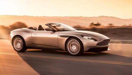 Aston Martin DB11 Volante revealed, gets 4.0TT V8 (video)