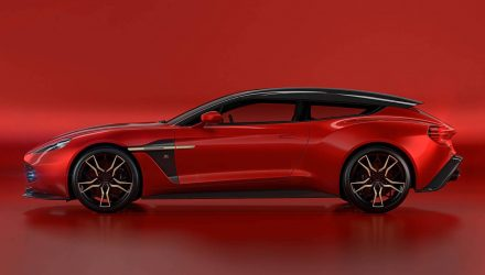 Aston Martin Vanquish Zagato Shooting Brake is one sexy wagon