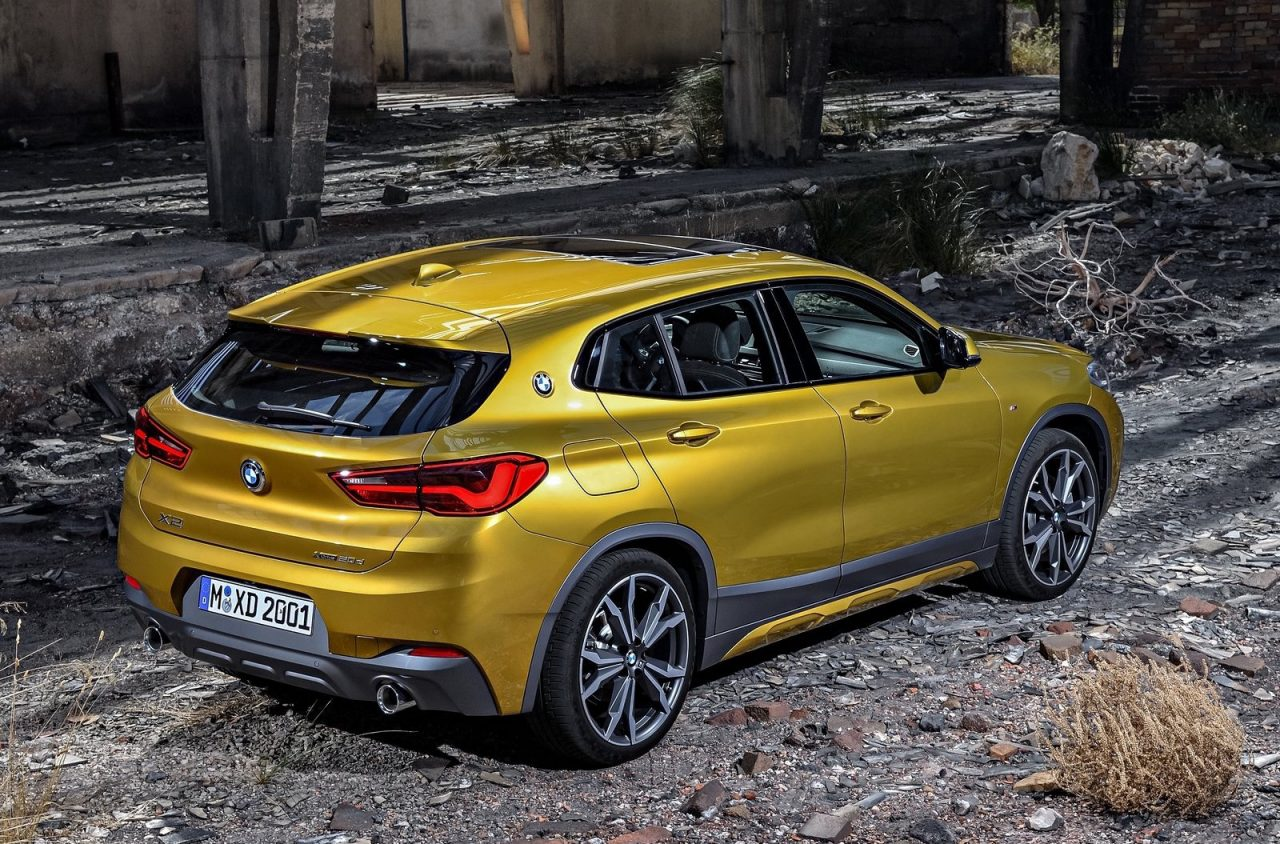 bmw x2 officially revealed debuts m sport x option. Black Bedroom Furniture Sets. Home Design Ideas