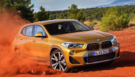 BMW X2 officially revealed, debuts M Sport X option