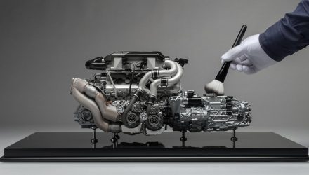 For Sale: Incredibly detailed Bugatti Chiron engine, 1:4 scale model