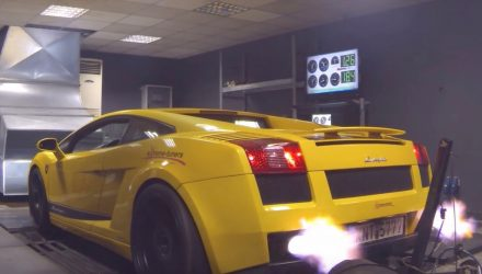 Video: Lamborghini Gallardo makes 3500hp at 12,000rpm