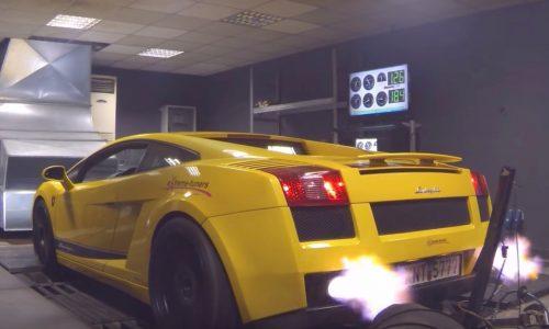 Video: Lamborghini Gallardo makes 3500hp at 12,000rpm