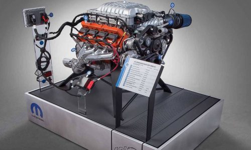 FCA announces Hellcat 'Hellcrate' crate engine package