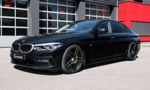 G-Power tunes up the new BMW 5 Series, including M550d