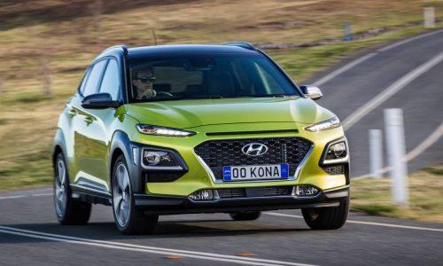 Hyundai Kona on sale in Australia from $24,500