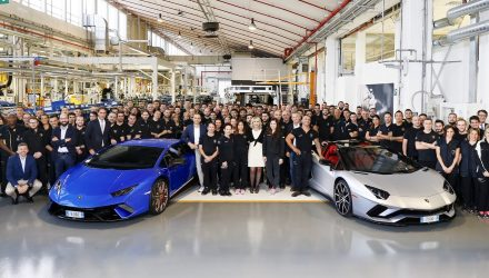 Lamborghini Aventador production hits 7000, Huracan 9000