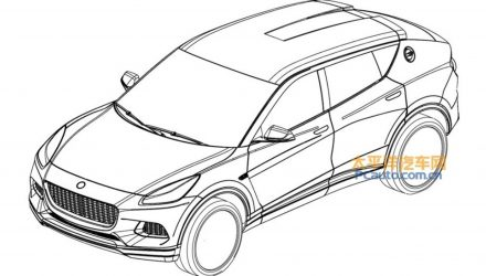 Lotus SUV design revealed via leaked patent images