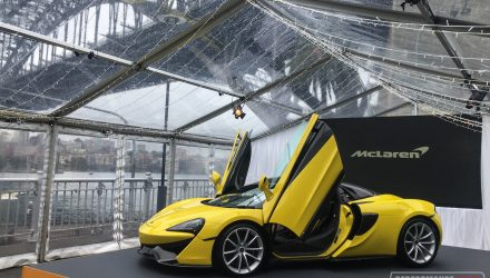 McLaren 570S Spider debuts in Australia, priced from $435,750