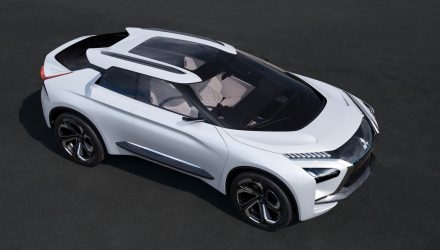 Mitsubishi e-Evolution concept revealed, new direction for Evo?
