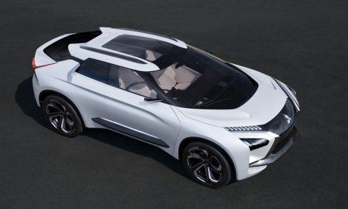 Mitsubishi e-Evolution concept revealed, new direction for Evo?
