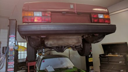 Volvo 240 GL LS1 V8 conversion project: Part 13 – engine in