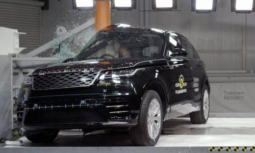 Range Rover Velar scores five-star ANCAP safety rating