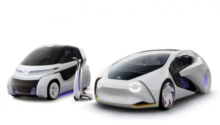 Toyota Concept-i RIDE & WALK concepts heading to Tokyo