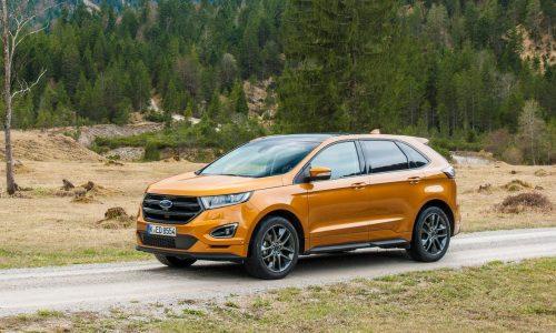 Ford Endura name confirmed for Australian Ford Edge SUV