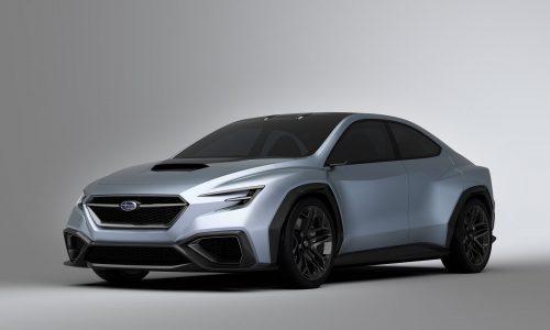 2020 Subaru WRX STI likely to feature hybrid powertrain – report
