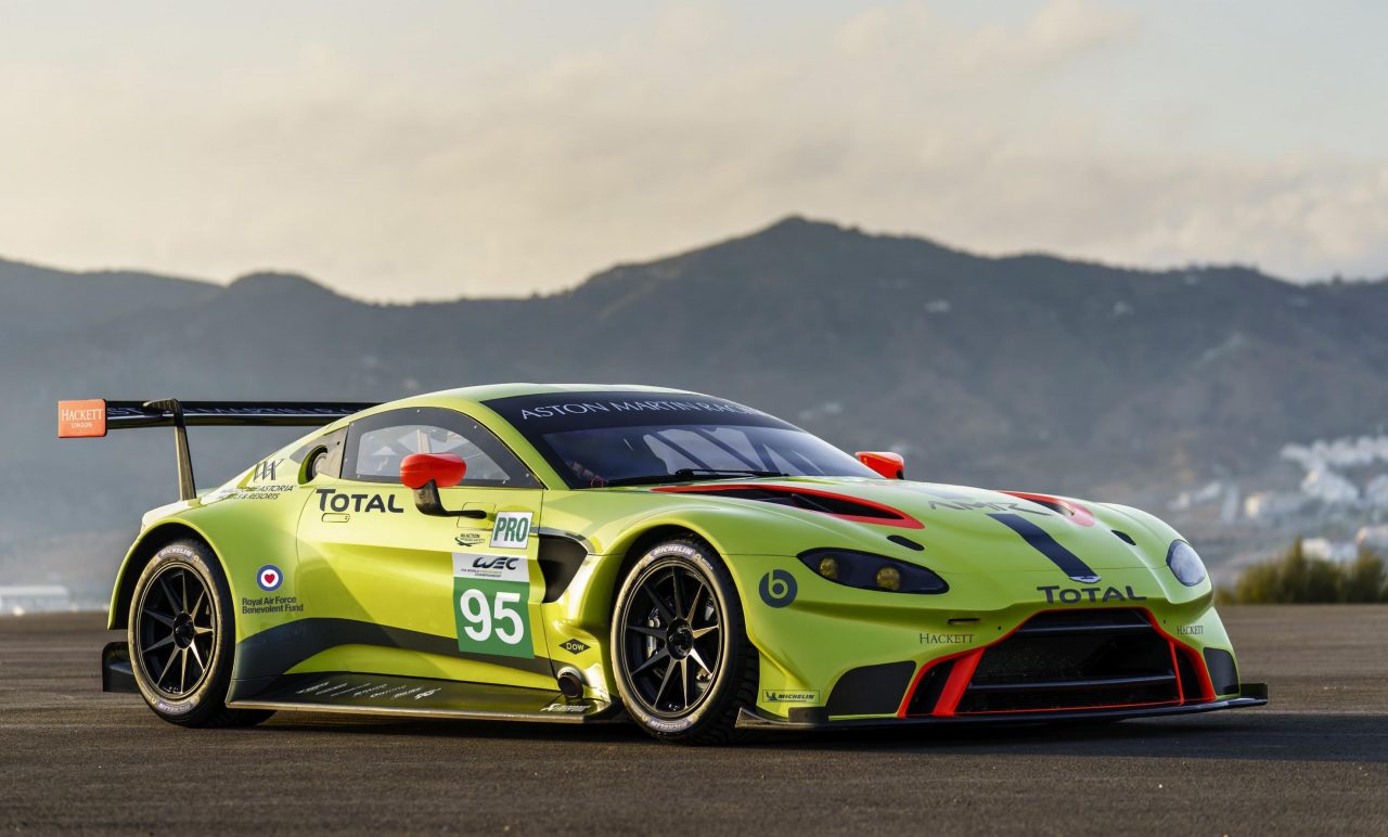 2018 Aston Martin Vantage GTE is ready for racing ...