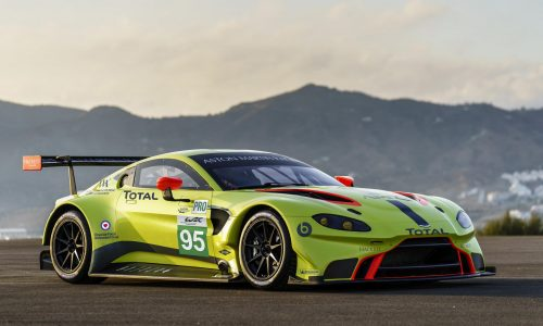 2018 Aston Martin Vantage GTE is ready for racing