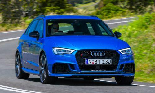 294kW Audi RS 3 Sportback now on sale in Australia
